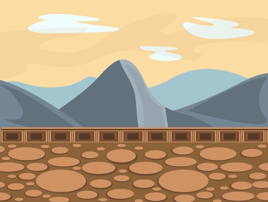 Rocks Game Background