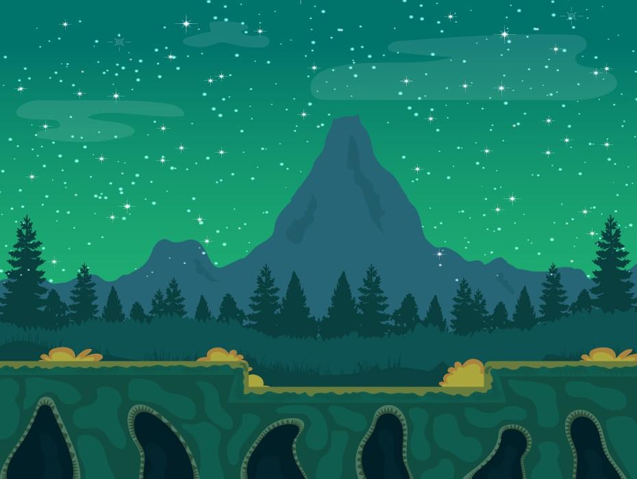 Night Game Background